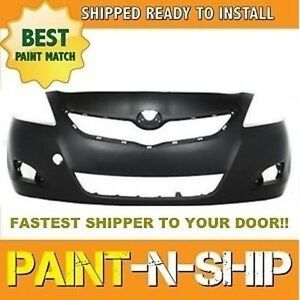 Fits 2007 2008 2009 Toyota Yaris Sedan Front Bumper Painted To Match To1000321