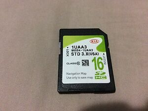 2014 2015 Kia Sorento 96554 1uaa3 Navigation Sd Card Oem Genuine