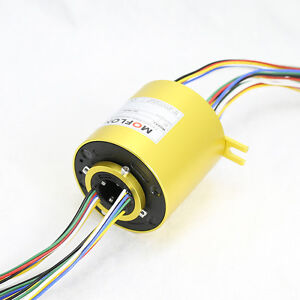 Mt2586 Slip Ring With Bore Size 25 4mm 1 18 Wires 10a Each moflon Slip Ring
