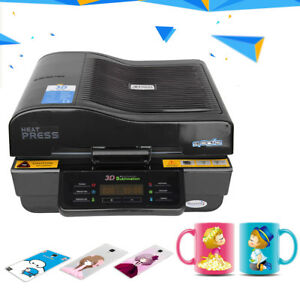 3d Vacuum Sublimation Heat Press Machine Transfer For Phone Cases Mugs Cups