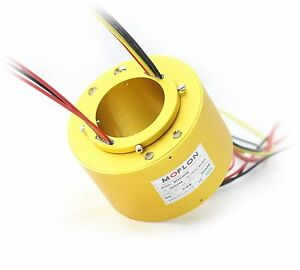 Mt70158 Slip Rings With Bore Size 70mm 12 Wires 10a Each moflon Slip Ring