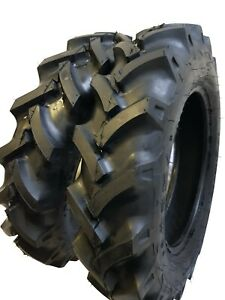 6 00 16 6 00x16 2 Tires 2 Tubes 8 Ply Road Crew R1 Knk50 Farm Tractor Tire