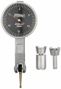 Fowler 52 562 778 Black Face Dial Test Indicator 0 030 Maximum Measuring Ran