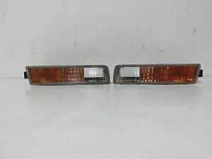 97 01 Jdm Honda Prelude Bb6 Bb8 Bumper Turn Signal Lights Corner Lamp Bb7 Bb9