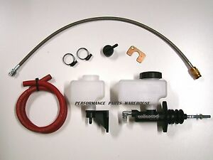 Gm Ls V8 Hydraulic Clutch Kit W 98 02 Camaro T56 6 Speed 30 Line