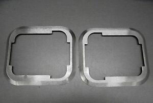 Jeep Cj Yj Wrangler Hard Door Paddle Handle Trim Bezels 1981 1995