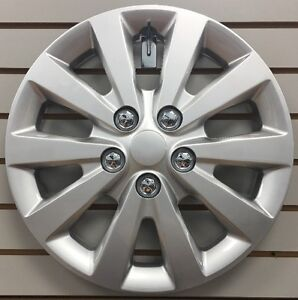 New 16 Silver Hubcap Wheelcover That Fits 2013 2017 Nissan Sentra
