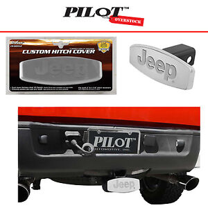 Bully Jeep Wrangler Rubicon Stainless Steel Tow Hitch Cover 2 Us Seller