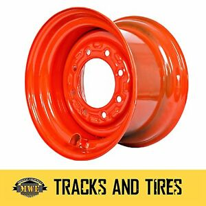 Steel Wheels For 12 16 5 12x16 5 Skid Steer Tires Pick From 8 Options