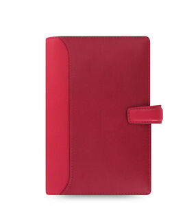 Filofax Personal Size Nappa Organiser Planner Diary Cerise Leather 025157 Gift