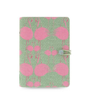 Filofax Personal Size Cover Story Organiser Notebook Book Diary Flamingo 022422