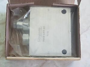 New In Box Sun Hydraulics Pneumatic Manifold Line Mount Ydcclhnac