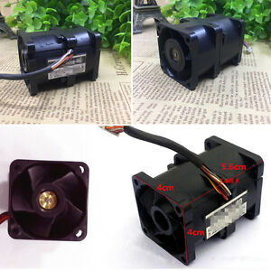 12v Electric Turbine Car Turbo Supercharger Dual Air Boost Fan 1a For San Ace40