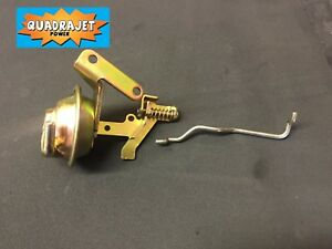 Quadrajet Carburetor Choke Pull Off With Linkage Rod New Vacuum Brake 880