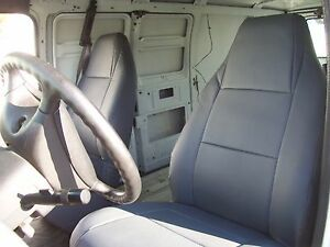 Dodge Ram Cargo Van Iggee S Leather Custom Fit Seat Cover 13 Colors Available