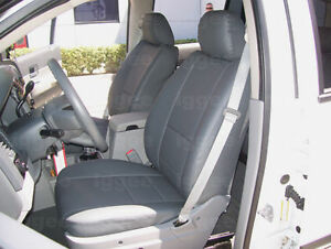 Dodge Dakota 1997 2004 Iggee S leather Custom Fit Seat Cover 13 Colors Available