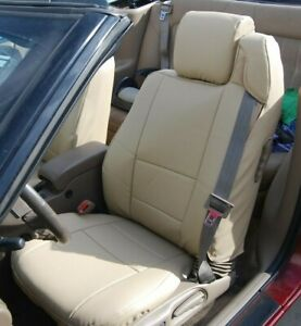 Chrysler Sebring Convertible Beige Iggee S Leather Custom Seat Cover