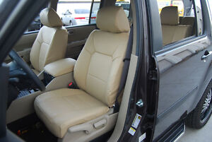 Honda Pilot 2003 2012 Iggee S Leather Custom Fit Seat Cover 13 Colors Available