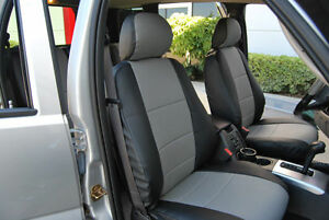 Jeep Liberty 2002 2013 Iggee S leather Custom Fit Seat Cover 13 Colors Available