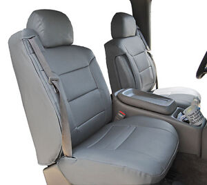 Chevy Silverado 2000 2002 Grey S Leather Custom Made Front Seat