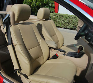 Bmw 325ci Convertible 2001 2008 Iggee S Leather Custom Fit Seat Cover 13colors