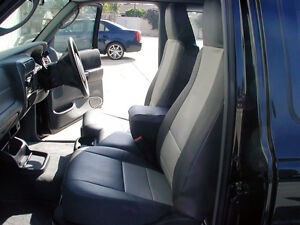 Ford Ranger 2004 2020 Iggee S leather Custom Fit Seat Cover 13 Colors Available