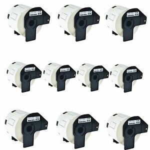 50roll Dk 1209 Dk1209 Address Labels For Brother Ql 570 1050 570vm 720nw 710w