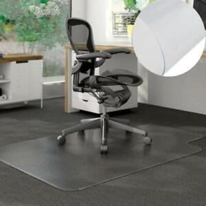 48 X 36 Pvc Floor Mat Protector For Hard Wood Floors Home Office Rolling Chair