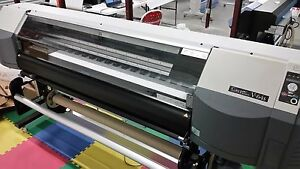 Sii Color Painter V 64s Large Format Printer used