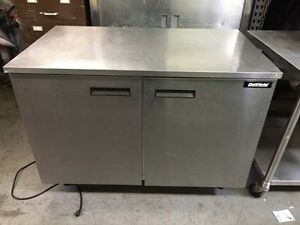 Delfield 2 Door Undercounter Refrigerator Work Top Uc4048