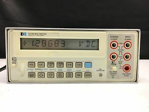 Hp 3478a Industrial Digital Hp ib Rms Programmable Dmm Multimeter System Unit