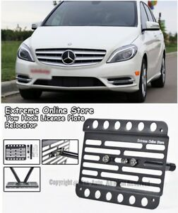 Eos For 12 up Mb W246 B class Front Bumper Tow Hook License Plate Bracket
