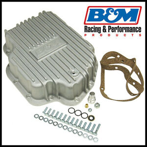 B M 20280 Cast Aluminum Deep Transmission Pan Gm Th400