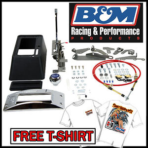 B M 80683 Quicksilver Automatic Transmission 3 And 4 Speed Floor Ratchet Shifter