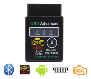 New Elm327 Bluetooth Obd 2 Can V2 1 Scan Tool Android Obd Reader Scanner