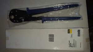 Pureflow Viega 50040 3 4 Inch Pex Press Tool With Blue Handle New