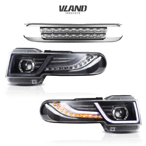 For Fj Cruiser Toyota 2007 2015 Led Projector Headlight Assembly Custom