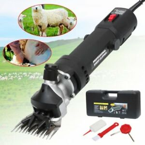 320w Electric Sheep Goat Clippers Shears Farm Animal Grooming Shearing Supplies