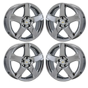 17 Chevrolet Sonic Pvd Chrome Wheels Rims Factory Oem 2017 Set 5526 Exchange