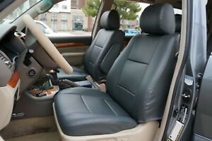 Toyota Land Cruiser 1998 2007 Iggee S leather Custom Fit Seat Cover 13colors
