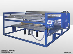 60 x120 E Class Manual Thermoforming Machine
