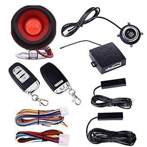 Suv Alarm Keyless System Entry Engine Ignition Push Starter Button Top Sale