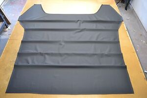 Early 1966 66 Chevelle Ss 2 Door Hardtop Black Tier Grain Headliner Usa Made