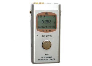 Accurate And Portable Ultrasonic Thickness Tester Gauge Hch 2000e Software Set