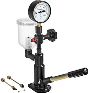 Diesel Injector Nozzle Tester Pop Pressure Tester Dual Scale 600 8000 Psi Bar