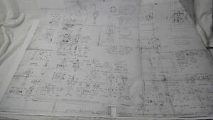 Wyvern Internal Combustion Hit And Miss Model Engine Blueprints miniature Model