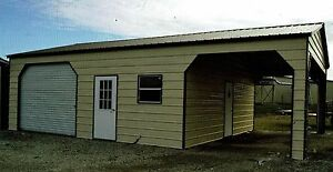 20 X 36 X 9 Combo Carport Garage Free Install Nation wide prices Vary