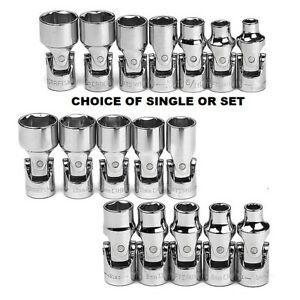 New Craftsman 1 4 Drive Flex Socket Sae Or Metric Your Choice Of Single Or Set