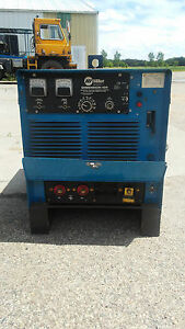 Miller Demension 400 Welder Constant Voltage current Dc Arc Welding Power Source