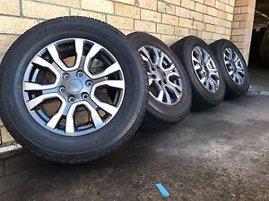 Ford Ranger Wildtrak Wheels And Tyres Genuine Brand New Set Of 4